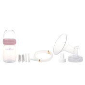 SpeCtra DEW 350 Breast Pump Premium Flange Kit w/ Bottle and Nipple - (Size