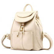 Szbags Womens Fashionable Classic Exquisite Metal Buckle Backpack