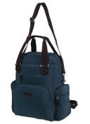 Szbags Nappy Bag Tote Backpack Shoulder Bag Beige