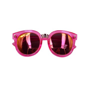 Holly Store Unisex Children Lens UV Protetion Sunglasses RoseRed - Suitable for 3-10 Years Old Kids