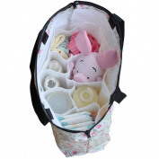 eonkoo Portable Baby Nappy Nappy Changing Organiser Insert Storage Bag Outdoor Liner