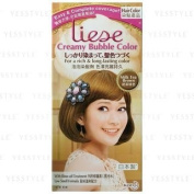 Liese foam hair colour - Milk Tea Brown.