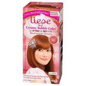 LIESE foam hair colour Jewellery Pink.