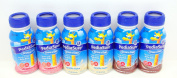 PediaSure Grow & Gain Vanilla, Chocolate & Strawberry Shakes 6 (240ml) Bottles - Small Storage Space Friendly!