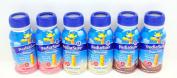 PediaSure Grow & Gain Vanilla, Chocolate & Strawberry Shakes 6 (240ml) Bottles - Small Storage Space Friendly!