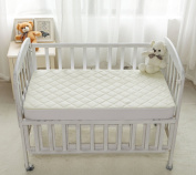 Organic Bamboo Crib Mattress Cover - Waterproof and fits all Standard Cribs