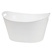 Creative BathTM Storage Tub in White