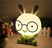 Baby Room Rabbit Cartoon Led Night Light Sleeping Lights Kids Bed Lamp For Home Art Decor Bulb Lamp