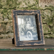 AGED BLACK PHOTO FRAME SET