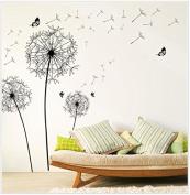 MChoice New Design Dandelion Wall Sticker Art Decals PVC Wall Decoration