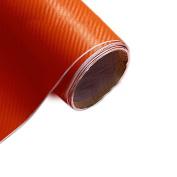 3D Carbon Fibre Vinyl Car DIY Wrap Sheet Roll Film Sticker Inside Car Decoration