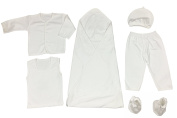 T-pro Baby Unisex Organic Cotton 6 Piece Gift Set