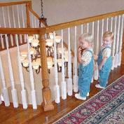 KidSafe Bannister Guard   Child bannister guard measures 0.9mH x 4.6mL