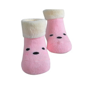 JIAJIA Newborn Baby Cute Cotton Ankle Socks Walkers for 0-12 Months