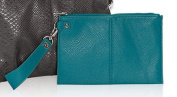 Thirty One Via Noon Wristlet in Teal