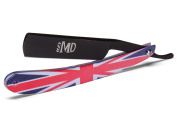 ~SHAVE READY~ MD Union Jack Straight Razor