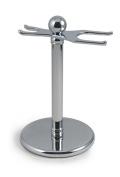 West Coast Shaving 301 Razor and Brush Stand, Chrome