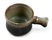 Hand Thrown Apothecary Mug with Handle, Grey