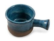 Hand Thrown Apothecary Mug, Dark Blue