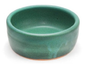 Hand Thrown Lather Bowl, Green
