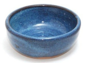 Hand Thrown Lather Bowl, Light Blue