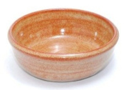 Hand Thrown Lather Bowl, Nutmeg Brown