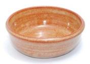 Hand Thrown Lather Bowl, Nutmeg Brown