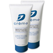 Dorco D Crème Mentholated Shaving Cream - For a Smooth and Soothing Shave