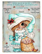 Sherri Baldy My-Besties TM Winter Wonderland Filled with Love Coloring Book
