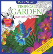 Color with Music Tropical Garden