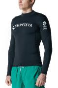 Tesla Surfista Men's Performance Long Sleeve Crew Athletic Fit Rashguard T71