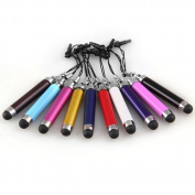 STYLUS--TOOGOO(R)10 X STYLUS PDA PEN RETRACTABLE FOR IPAD IPHONE IPOD TOUCH CAPACITIVE SCREEN