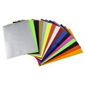 Newcomdigi Heat Transfer Vinyl Sheets 30cm x 25cm Heat Transfer Vinyl for T Shirts, Hats, Clothing for Heat Press Machine