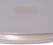 Firefly Imports Single Face Satin Ribbon, Antique White, 0.6cm /100-Yard
