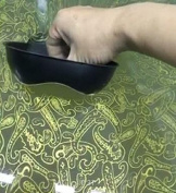 Hydrographic Film - Water Transfer Printing - Hydro Dipping - Gold Flower Pattern - 1 Metre