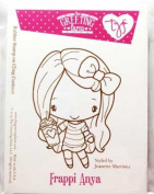 The Greeting Farm - Frappi Anya Rubber Stamp