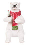 Coca Cola Sitting Polar Bear Figurine