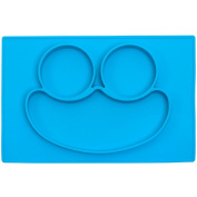 No More Splatter Platter - Baby Silicone Placemat & Plate