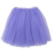FuzzyGreen® Adorable Baby Toddlers Girls' Lavender Ballet Tutu Skirt