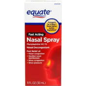 Equate Fast Acting Nasal Spray, 30ml