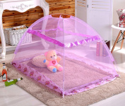 CdyBox Portable Baby Kids Canopy Mosquito Net Tent Outdoor Beach Playhouses