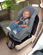 Baby Car Seat waterproof Protector,Non Toxic Child or Baby Auto Seat Protector Mat-Single-seat wear