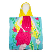 Hooded Towel for Kids Toddlers Bath Wrap Beach Poncho with Hood Cover Up Robe Baby