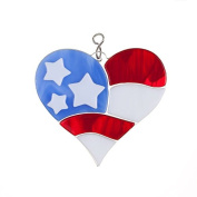Switchables Fused Flag Heart by Krista Hamrick