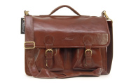 Ashwood Large Leather Briefcase/Laptop Bag - 8190