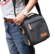 Chnli Men Women Vintage Canvas Messenger Shoulder Bag Handbag Outdoor Travel Hiking Bag