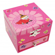 Moomins - Musical box -Little My- Pink
