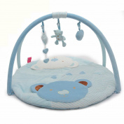 MLSH Charming 3-in-1 Musical Activity Kick and Play Piano Gym , kite bear blue