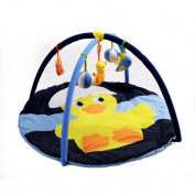 MLSH Charming 3-in-1 Musical Activity Kick and Play Piano Gym , rhubarb duck