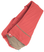 Wallaboo Baby sling Connexion, Easy Adjustable and Ergonomic, Newborn and Up, 100% cotton, Red / Taupe